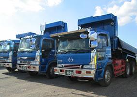 廃棄物収集運搬に使用する車両